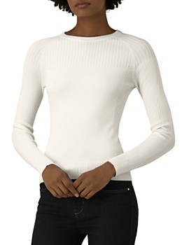 KAREN MILLEN - Ribbed-Detail Sweater