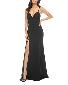Dress the Population - Alejandra Plunge Gown