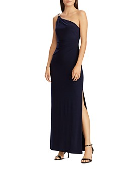 Ralph Lauren - Jersey One-Shoulder Gown