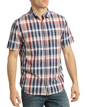 Flag & Anthem - Howell Short-Sleeve Plaid Regular Fit Shirt