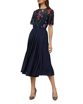 Ted Baker - Misty Hedgerow-Print Culotte Jumpsuit