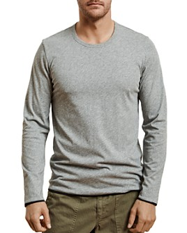 Velvet by Graham & Spencer - Stephen Reversible Long-Sleeve Crewneck Tee