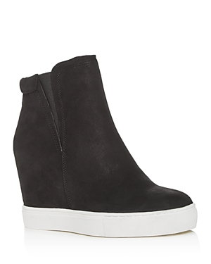 Kenneth Cole Women's Kam Pull-On Wedge High-Top Sneakers
