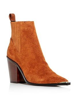 Kenneth Cole - Women's West Side Pointed-Toe Block-Heel Booties