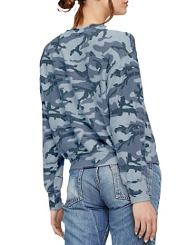 Michael Stars - Gigi Camouflage Sweatshirt