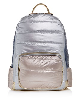 GiGi - Girls' Color-Block Puffer Backpack - 100% Exclusive