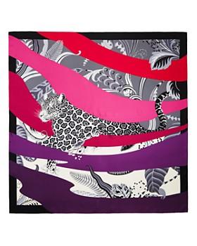Salvatore Ferragamo - Manifest Graphic Silk Scarf