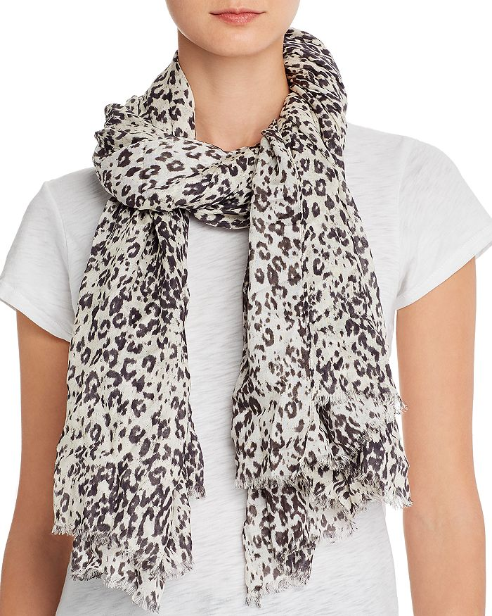 ALLSAINTS - Patch Oblong Lightweight Scarf