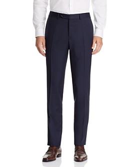 Canali - Capri Textured-Weave Slim Fit Dress Pants