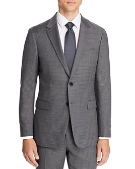 Theory - Chambers Micro-Check Slim Fit Suit Jacket