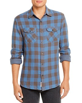 Flag & Anthem - Belhaven Double-Faced Check-Print Regular Fit Shirt