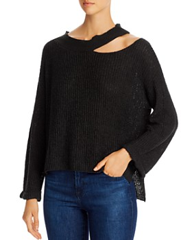 Elan - Ribbed Cutout Sweater