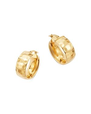 Bloomingdale's Huggie Hoop Earrings in 14K Yellow Gold - 100% Exclusive