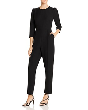 Donna Karan - Puff Sleeve Jumpsuit