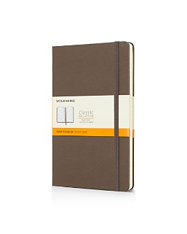 Moleskine - Classic Large Hardcover Ruled Notebook