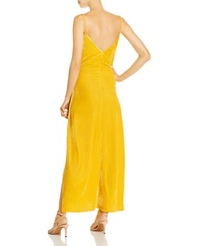 O.P.T - Pheme Velour Maxi Slip Dress