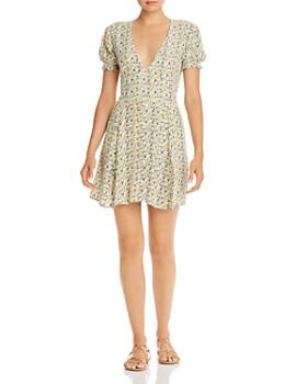 Faithfull the Brand - Rafhaela Floral-Print Mini Dress
