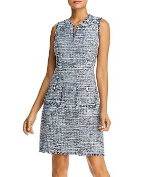 KARL LAGERFELD Paris - Sleeveless Tweed Dress