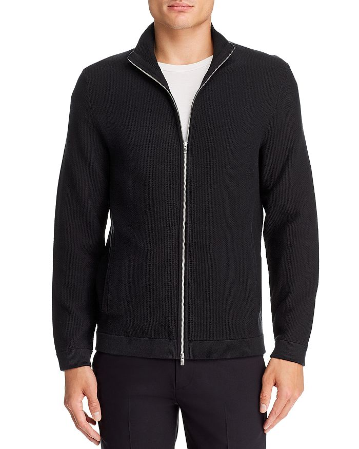 Theory - Dellen Breach Front-Zip Cardigan - 100% Exclusive