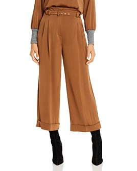 Marella - Gerry Paperbag Waist Wide-Leg Pants