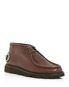 Salvatore Ferragamo - Men's Terry Leather Chukka Boots