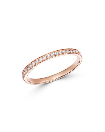Bloomingdale's - Diamond Stacking Band in 14K Rose Gold, 0.15 ct. t.w. - 100% Exclusive
