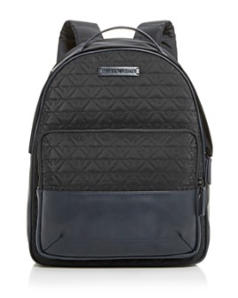 Armani - Logo-Quilted Backpack