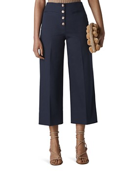Whistles - Heidi Button-Fly Cropped Pants