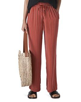 Whistles - Striped Wide-Leg Pants