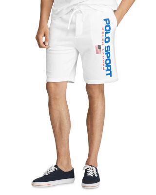 Fleece In Sport Shorts White Polo n0kXNw8OP
