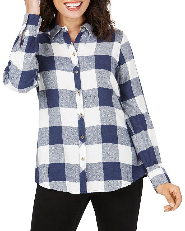 Foxcroft - Rhea Buffalo-Plaid Shirt