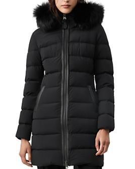 Mackage - Calla Fur-Trim Lightweight Down Coat