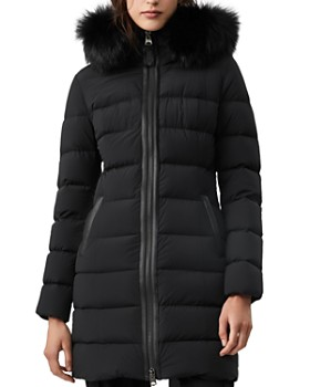 Mackage - Calla Fur-Trim Lightweight Down Coat