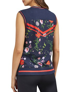 Ted Baker - Hedgerow Sleeveless Floral-Print Top