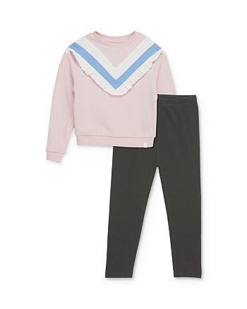 Sovereign Code - Girls' Nettie Striped Sweatshirt & Alana Leggings Set - Baby