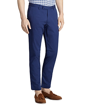 d60810256e Stretch Straight Fit Chino Pants in Dark Cobalt