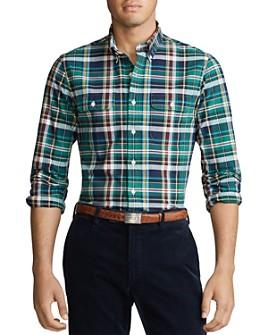 Polo Ralph Lauren - Classic Fit Plaid Oxford Shirt