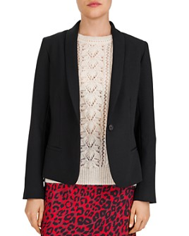 Gerard Darel - Verlaine Single-Button Shawl-Collar Blazer