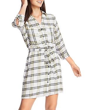 1.state Dresses PLAID SHIRT DRESS