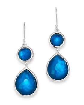 IPPOLITA - Sterling Silver Wonderland Double-Drop Gemstone Earrings