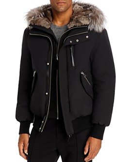 Mackage - Fur-Trim Down Bomber Jacket