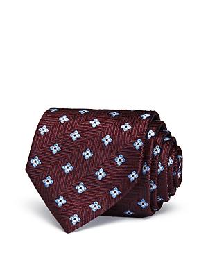 Ermenegildo Zegna Textured Florette Classic Tie-Men