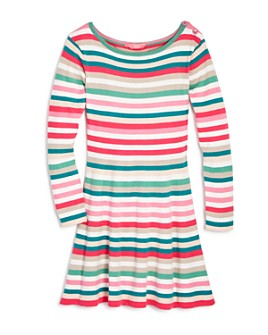 Joules - Girls' Janey Striped Swing Dress - Little Kid, Big Kid