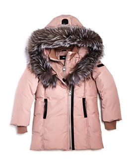 Mackage - Girls' Fur-Trimmed Coat - Little Kid