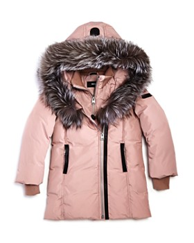 Mackage - Girls' Leelee Fur-Trimmed Classic Down Coat - Little Kid
