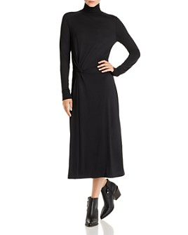 rag & bone - Wool Mock-Neck Midi Dress