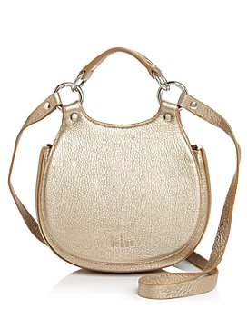 Behno - Tilda Mini Leather Crossbody Saddle Bag