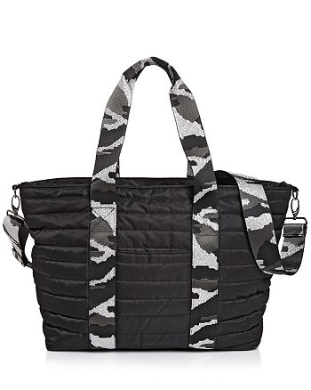Think Royln - Wingman Black Noir Quilted Tote