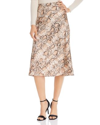 Midi Slip Skirt   100 Percents Exclusive by Aqua
