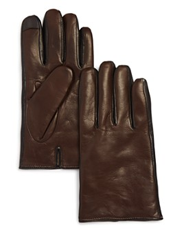 The Men's Store at Bloomingdale's - Cashmere-Lined Nappa Leather Gloves  - 100% Exclusive